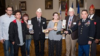 Virginia Legionnaires return lost medals to veteran's family
