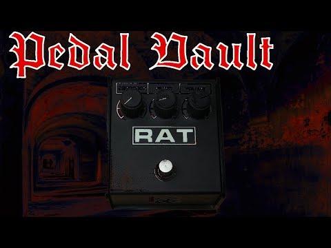 Pedal Vault – ProCo Sound RAT Distortion Pedal (Motorola LM308) Death Metal Review