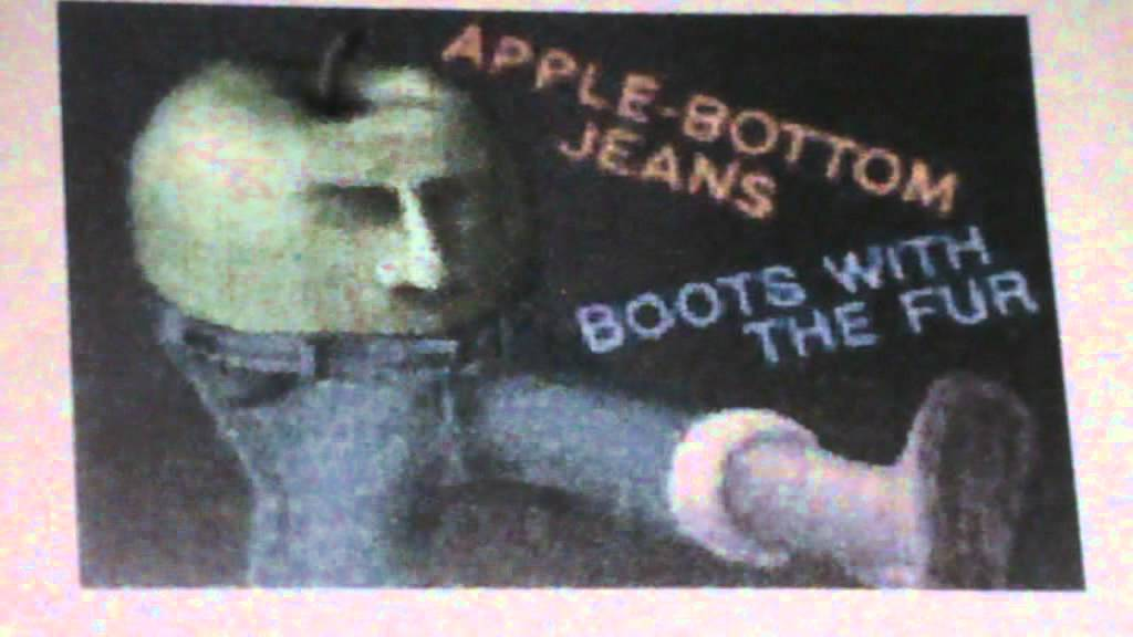 apple bottom jeans: full song - YouTube