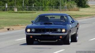 1970 Hemi 'Cuda Custom Street Machine Action