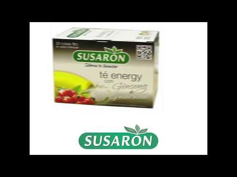 Susarón Té Energy con Ginseng y Guaraná