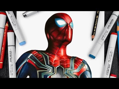 Spider-Man Drawing - Avengers: Infinity War