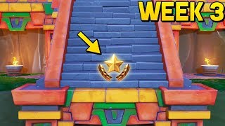 WEEK 3 SECRET BATTLE STAR LOCATION! (Fortnite Season 8 Week 3 Challenges)