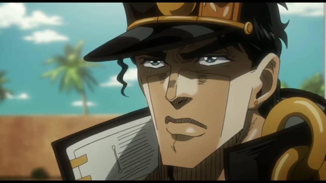 Jotaro Vs D Arby Part 1 Youtube