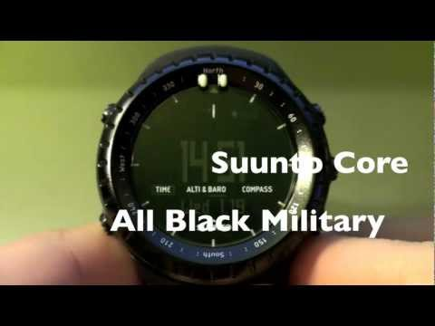 "Suunto Core All Black ""Military"" Review (Part 1)"