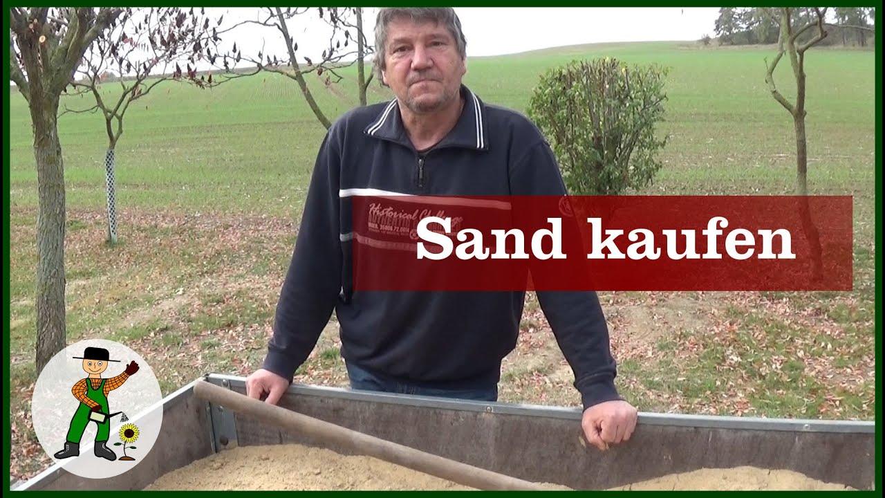 Woher bekommt man Sand? - YouTube