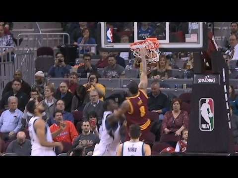 Channing Frye Turns Back Clock with Strong Slam | 02.01.17