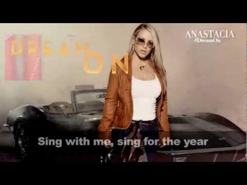 Anastacia - Dream On Lyric Video (Aerosmith Cover)