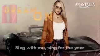 Anastacia - Dream On Lyric Video (Aerosmith Cover)