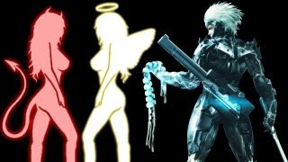 "Easter Egg ""Menina Boa / Menina Má"" no Metal Gear Rising Revengeance"