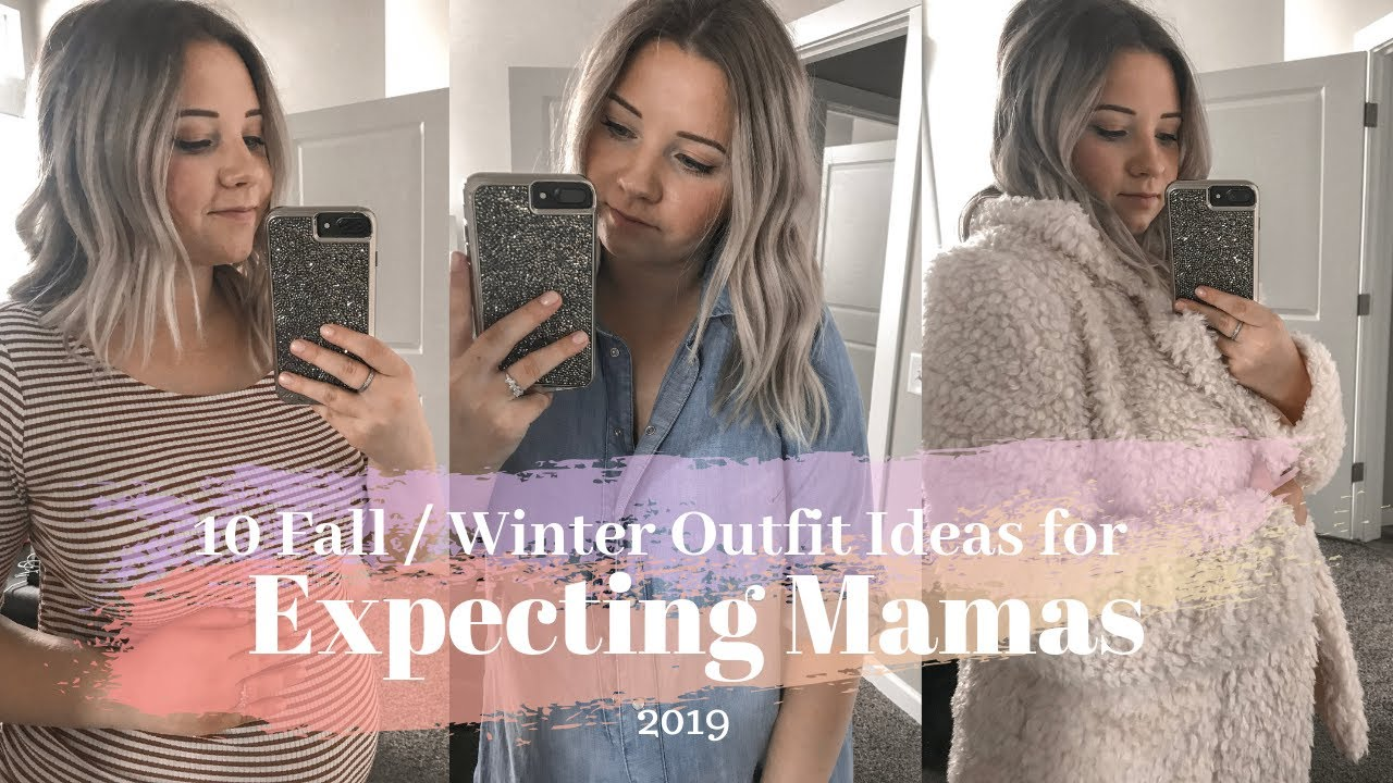 Fall 2019 Outfit LookBook    10 Styling the Baby Bump Maternity Outfit Ideas! 2