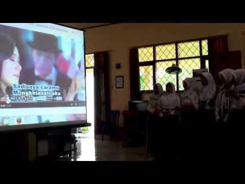 Sakitnya Tuh Disini - SMK Agri Insani (cover karaoke)