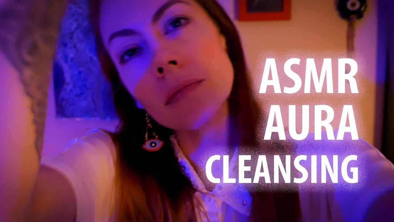 ASMR Cleansing (Fluffing) Your Aura with Reiki Master