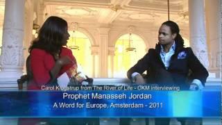 Interview with Prophet Manasseh Jordan as seen on Benny Hinn Programs