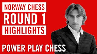 Norway Chess 2015 Round 1 Highlights