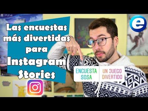 Las Encuestas más divertidas de Instagram Stories