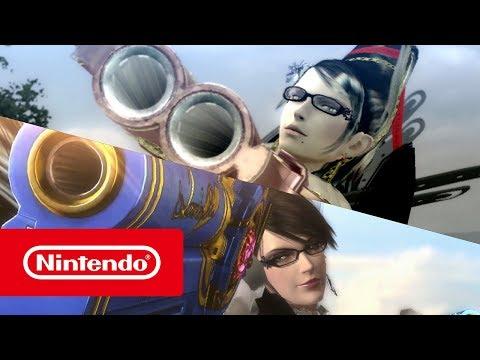 Bayonetta e Bayonetta 2 - Trailer de apresentação (Nintendo Switch)