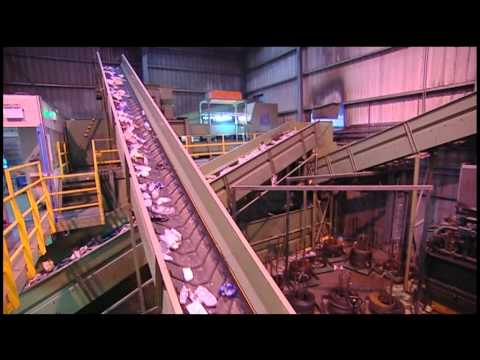 Viridor Materials Recycling Facility Mrf Youtube