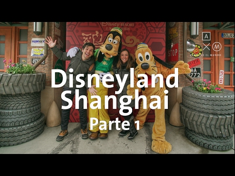 Está muy loco Disneyland Shanghai!