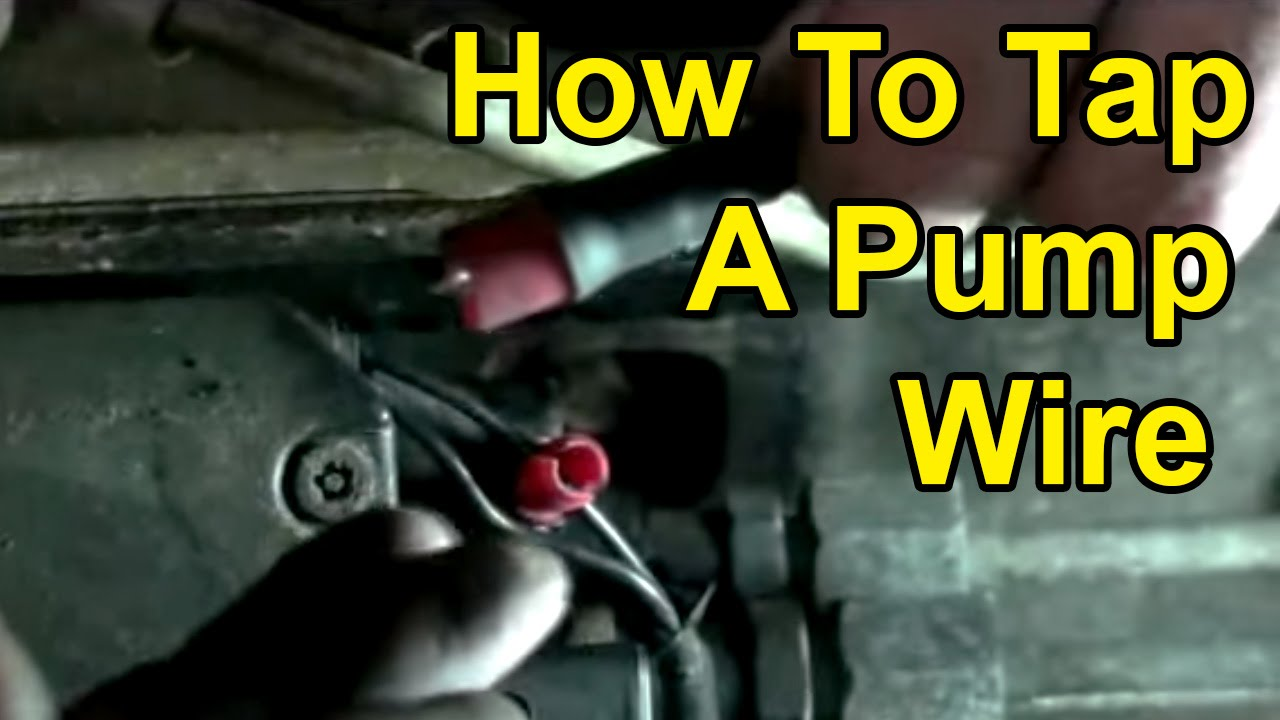 How To Tap a Pump Wire for Module Install: 9802 Dodge