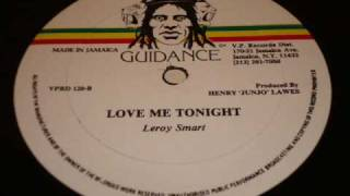 Leroy Smart Love Me Tonight - Jah Guidance 12 Inch - DJ APR