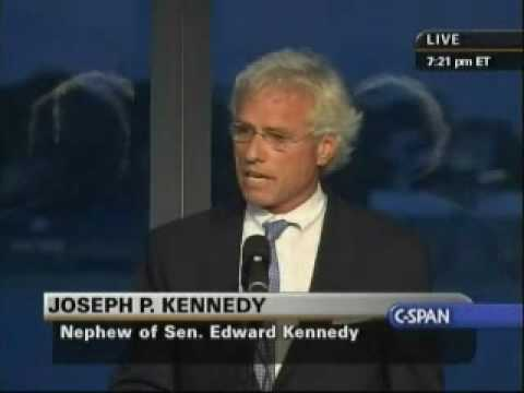 Edward Kennedy Memorial Service - Joseph P. Kennedy (Part 1)
