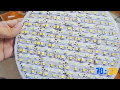 DIY LED Video Light Panel  -Variable Color Temperature