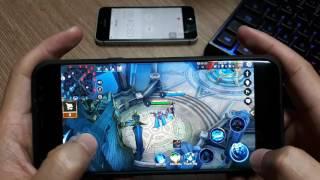 Samsung Galaxy S8 Plus Chơi Liên Quân | 13 phút giảm 2% pin | Nóng 36 độ | Xếp hạng thua sml :(
