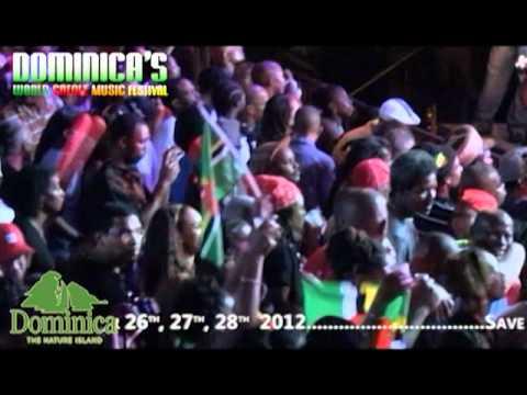 Dominica's World Creole Music Festival - Night #1 Friday 2011