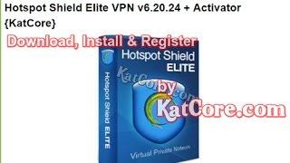 Hotspot Shield Elite VPN v6.20.24 + Activator Latest {April-2017}