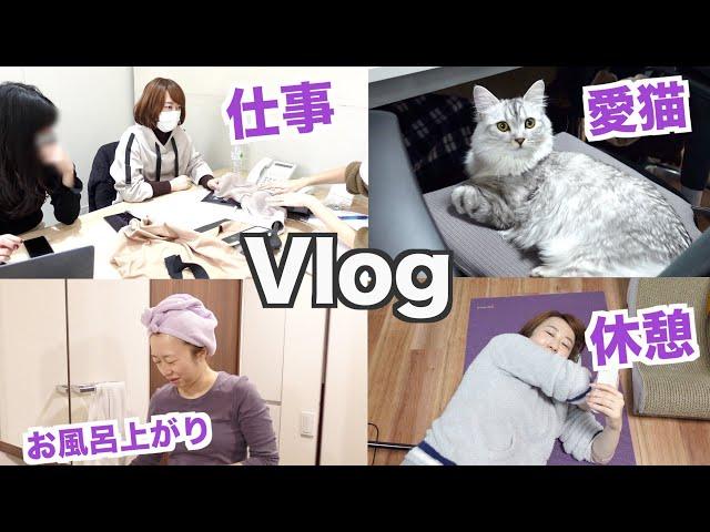 【Vlog】仕事したり休憩したり、リアルすぎる1日〈密着24時〉