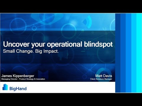 Uncover Your Operational Blindspot