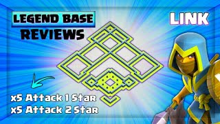 Th13 Legend Base Reviews With Link | Anti Witch + Anti Hybrid + Anti GoSuwi + Anti LaLoon | Cup Base