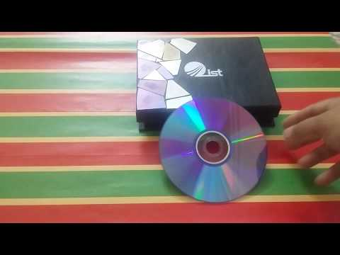 How to cut dvd and cds for craft-----De crafter