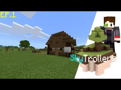 Building the house | Episode 1 of SkyTrollers | A SkyGames official production