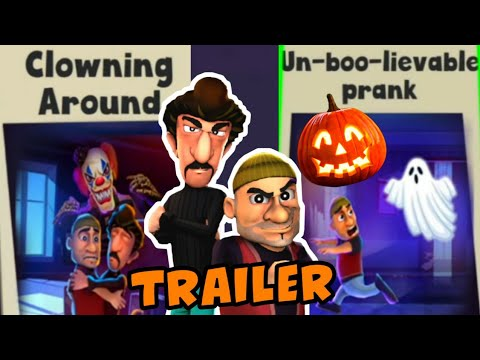 Scary Robber Home Clash [Trailer] Clowning Around + Un-boo-lievable PranK - Happy HALLOWEEN Android