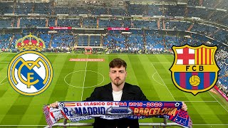 Real Madrid - FC Barcelona 2:0   El Clasico - Santiago Bernabeu Stadionvlog   ViscaBarca