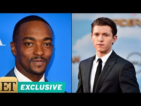 EXCLUSIVE: Anthony Mackie Breaks Down How Tom Holland Rivalry Began: 'The Kid's a Problem' 😂