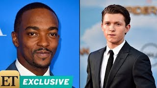 Exclusive: anthony mackie breaks down how tom holland rivalry began: 'the kid's a problem' 