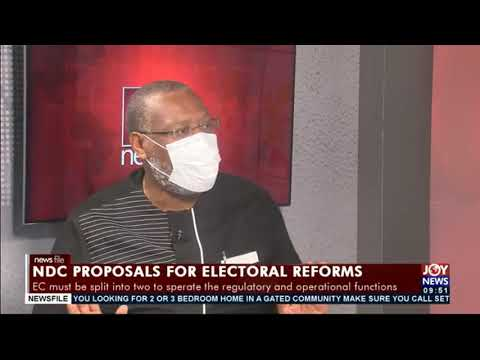 Electoral reforms: If it is good for Ghana, implement it - Alex Segbefia tells EC #Newsfile