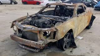 Wrecked and Burned: Chevy Camaro or Camaros 2010-2019