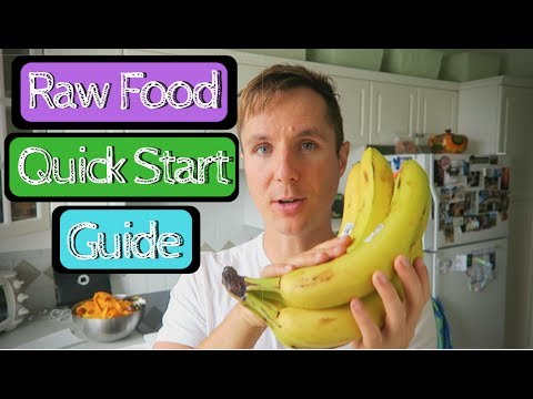3 Quick Ways to Start a Raw Food Diet Today!
