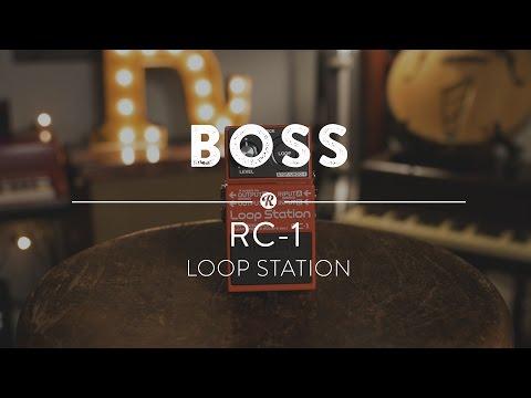 Boss RC-1 Loop Station   Reverb Demo Video