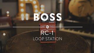 Boss RC-1 Loop Station   Reverb Demo  Resimi