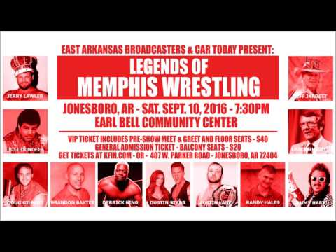Legends of Memphis Wrestling Reunion - Lance Russell Radio Commercial
