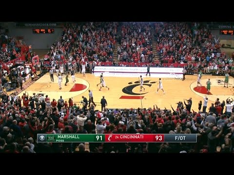 Men's Basketball Highlights: Cincinnati 93, Marshall 91 (Courtesy CBS Sports Network)