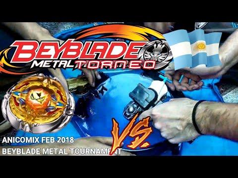 TORNEO METAL!: Beyblade Argentina Tournament 2018 en Anicomix Free San Valentín