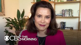 Michigan Governor Whitmer on catastrophic flooding after two dams broke