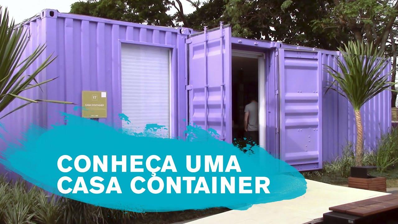 Uma opção bem interessante,segundo o arquiteto Daniel Kalil,um dos autores do projeto Casa Container