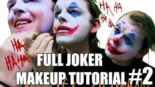 That Joker Guy applies Joaquin Phoenix Joker Makeup for Joker reaction to Joker trailer